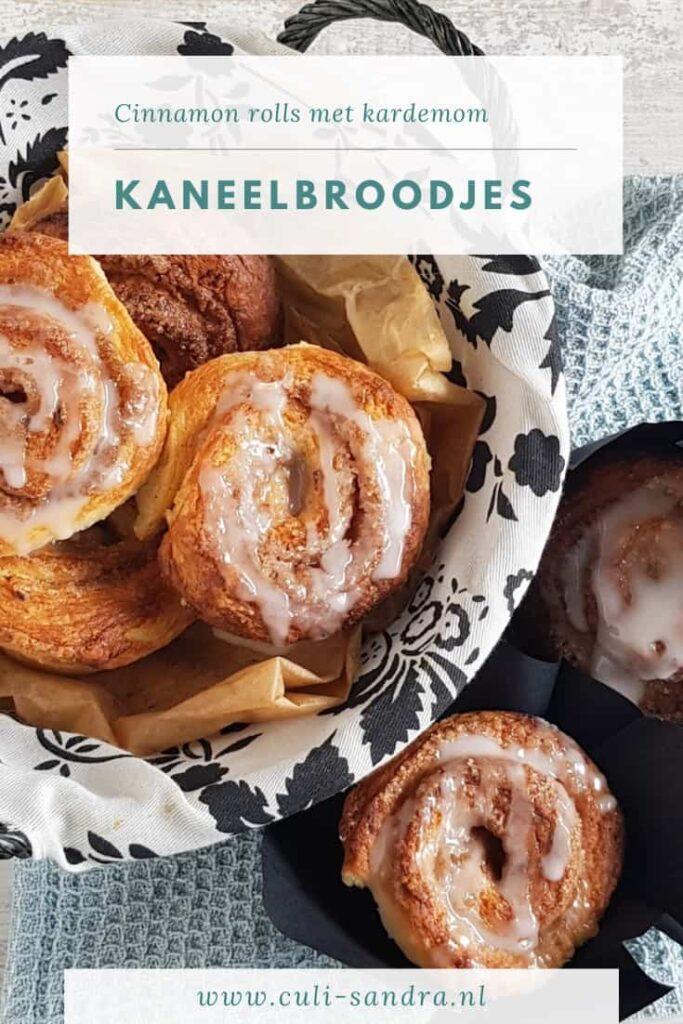Recept cinnamon rolls - kaneelbroodjes recept