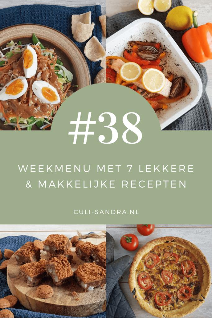 Weekmenu 38
