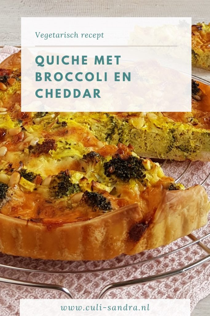 Recept quiche met broccoli
