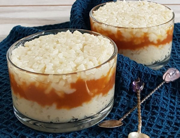 Rijstpudding met karamel