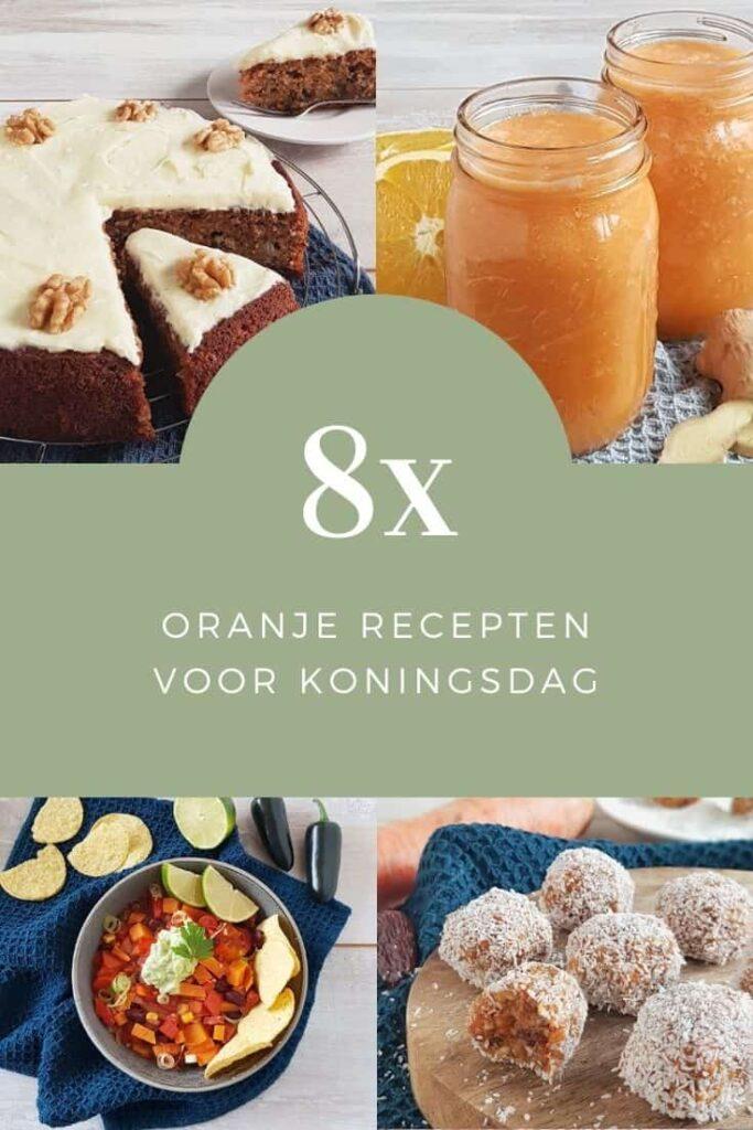 Oranje recepten voor Koningsdag