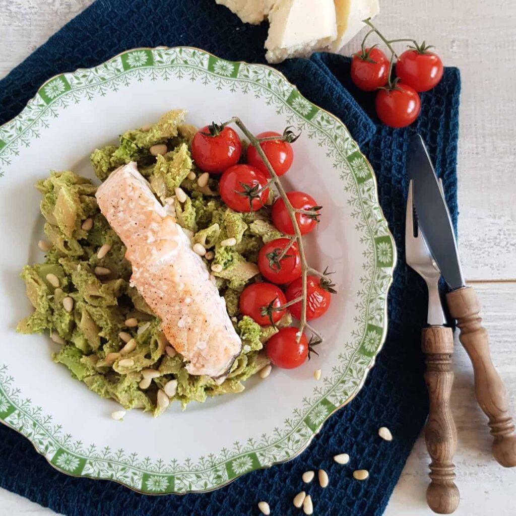 Pasta met broccoli-pesto