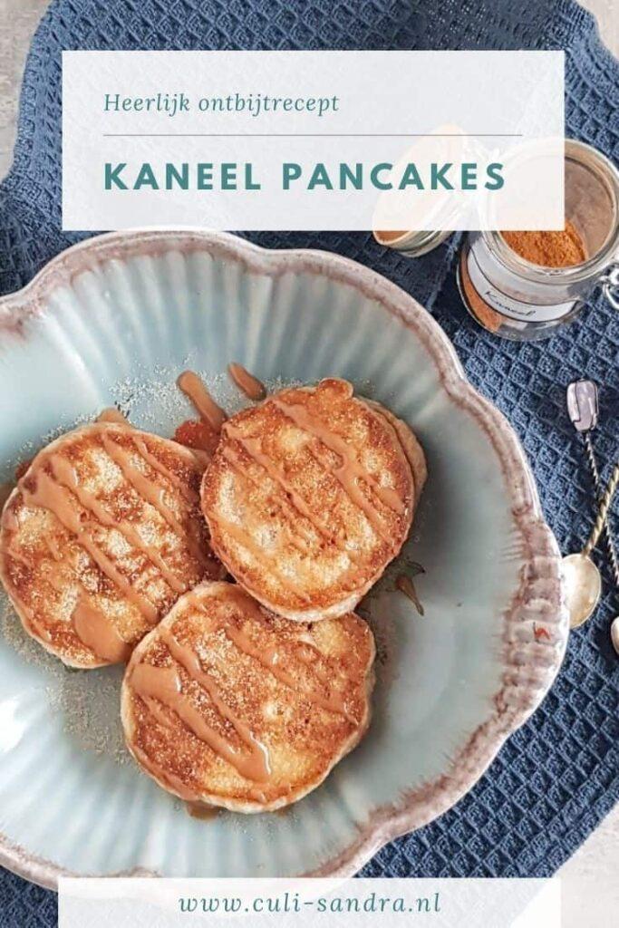 Recept kaneel pannenkoeken
