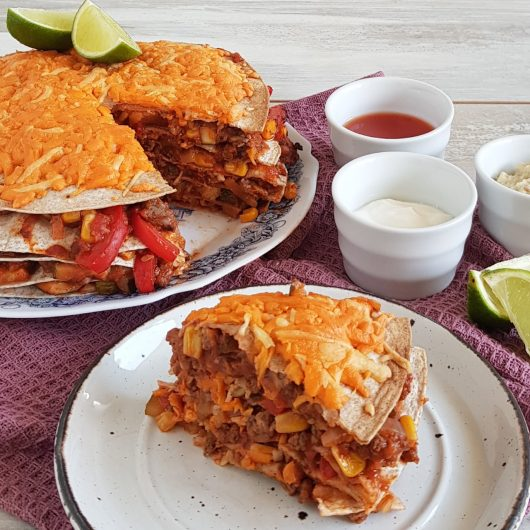 Tortillataart - Mexicaanse wraptaart