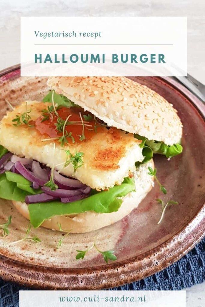 Recept halloumi burger