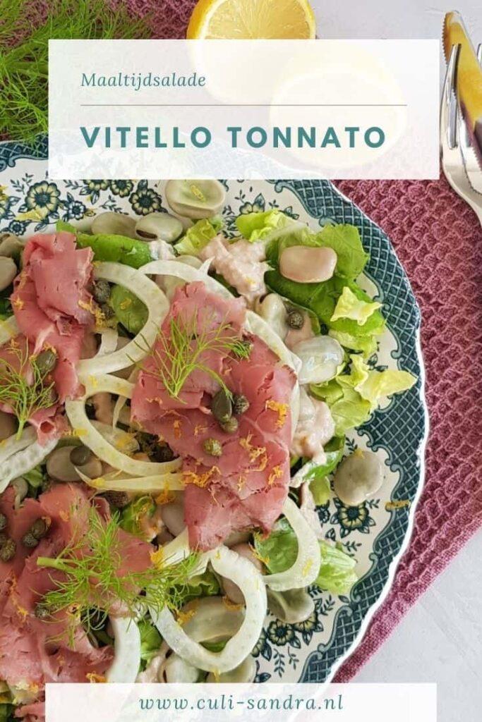 Recept vitello tonnato hoofdgerecht