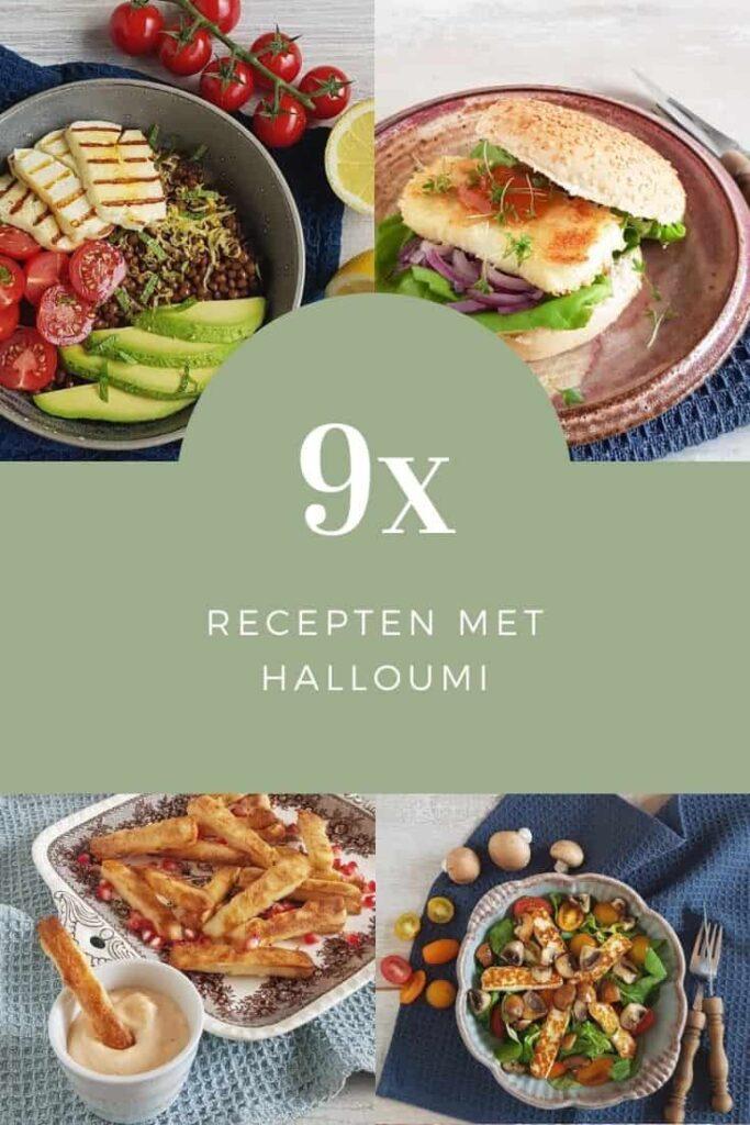 Recepten met halloumi